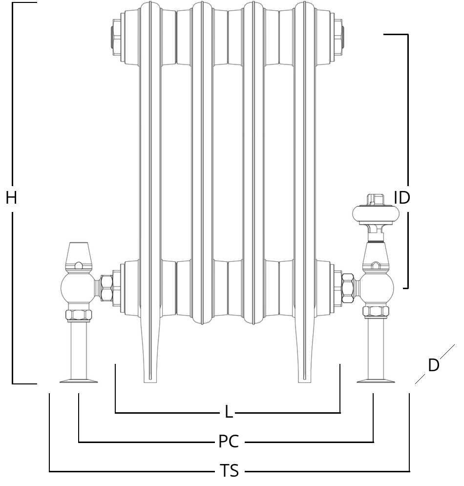 Radiator drawing